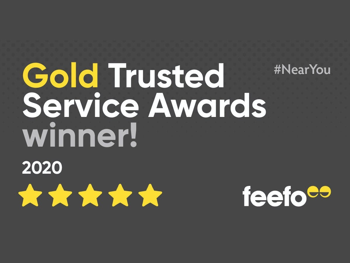 Pilates NearYou receives Feefo Gold Trusted Service Award 2020
